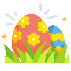 Easter email template builder