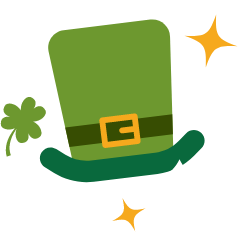 St. Patrick's Day email template builder