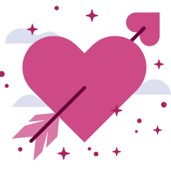 Valentine's Day email template builder