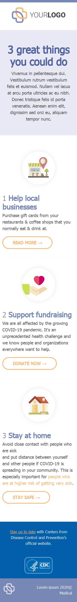 Support fundraising email template