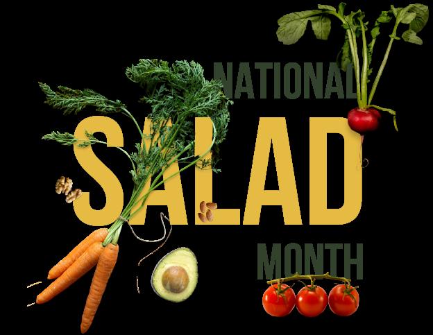 National Salad Month Banner