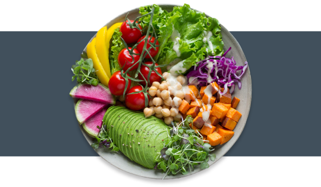 Vegan Salad Bowl Image