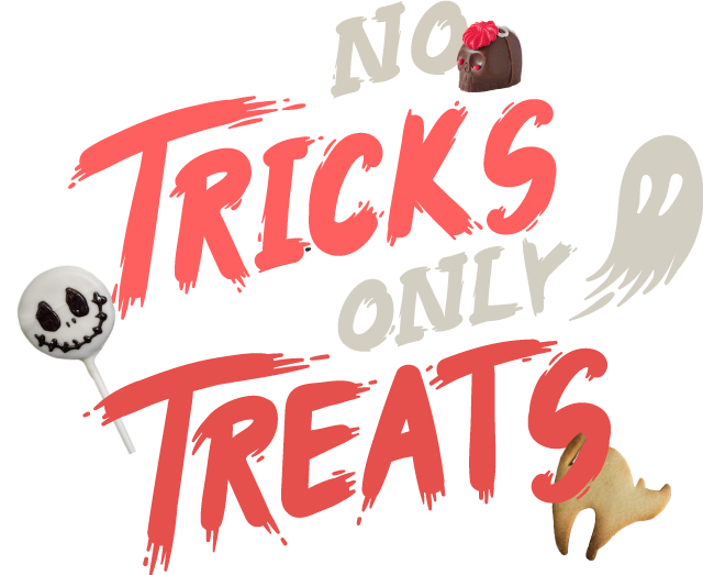 No Tricks Only Treats Banner