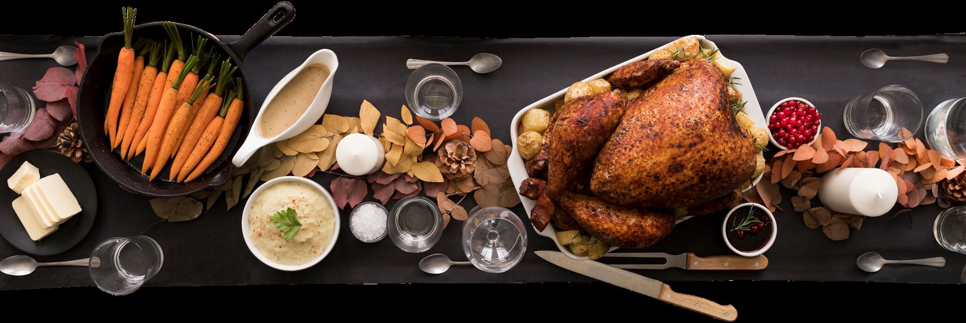 Thanksgiving Dinner Set