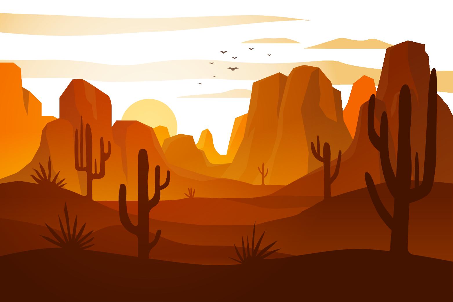 landscape brown