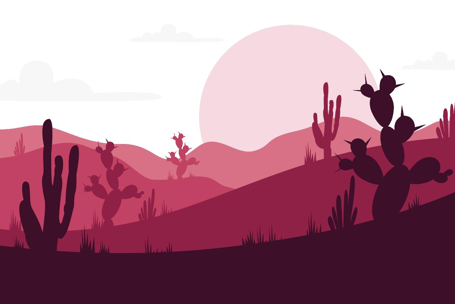 landscape red