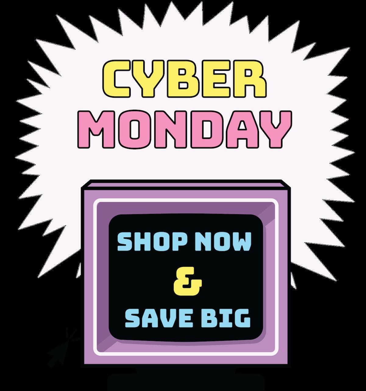 Cyber Monday Hero Image