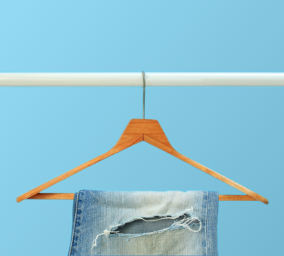 Jeans with Hanger