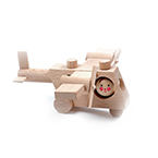 Airplane Wood Toy