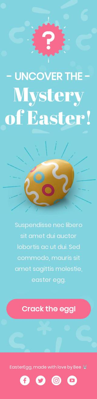 Crack the egg email template