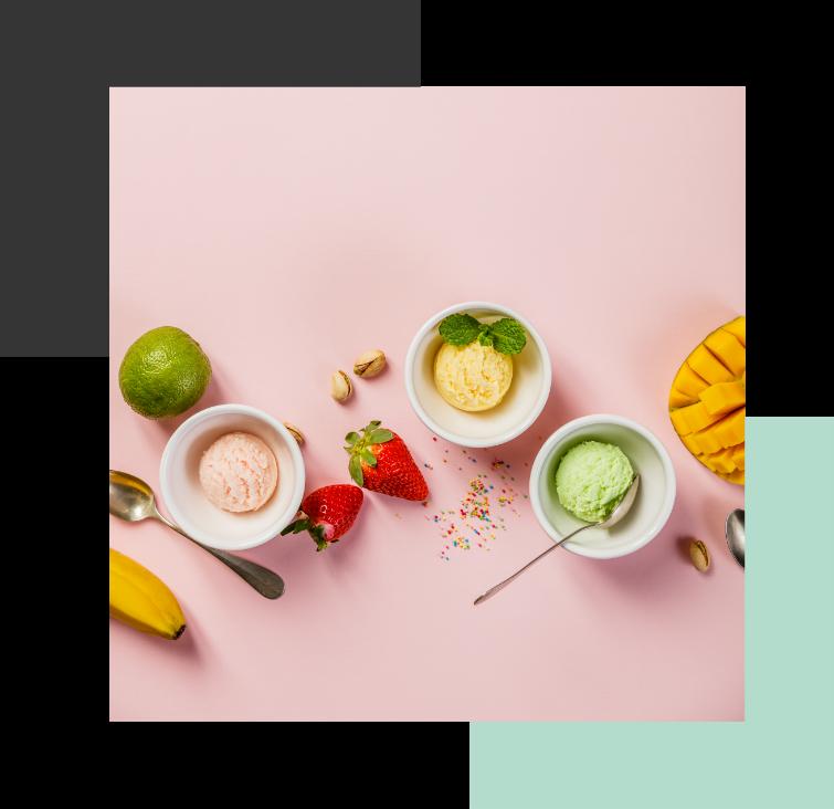 Different Ice Cream Scoop
