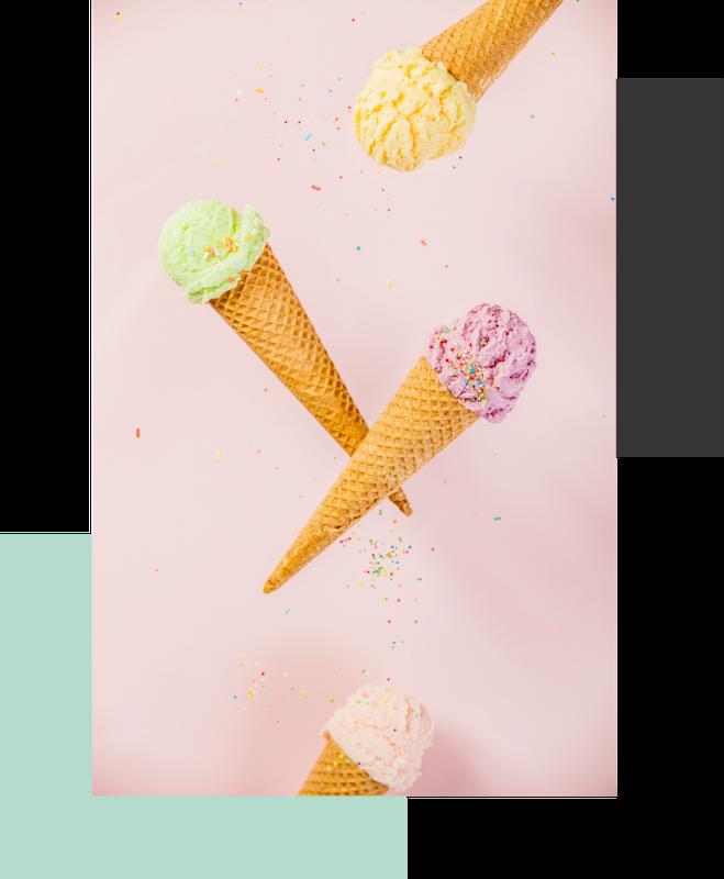 Falling Ice creams