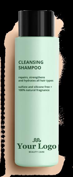 Shampoo Bottle Mockup Placeholder