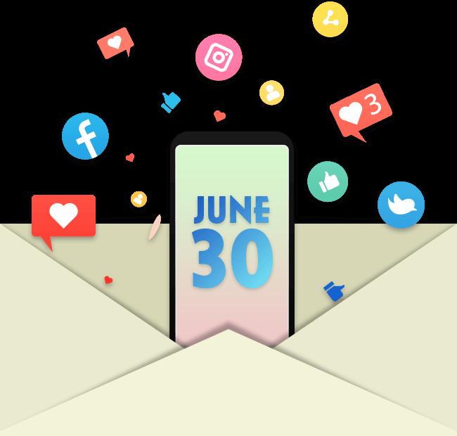 Social Media Day June 30th
