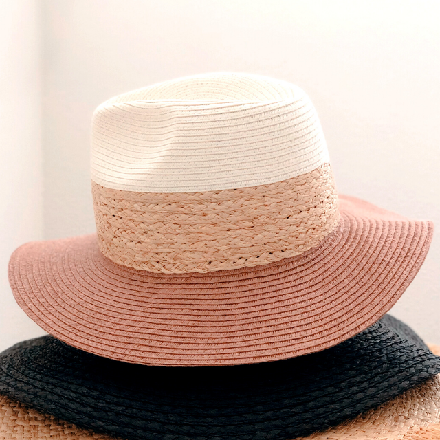 Stack of Summer Hats