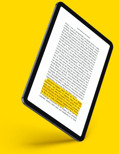 eBook Page Mockup Placeholder