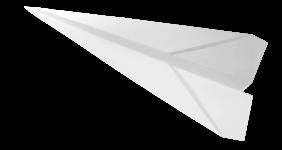 Paper Plane Design Element Placeholder