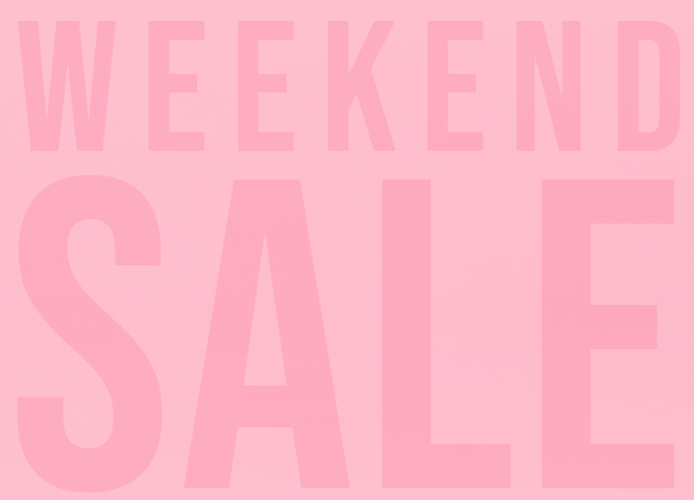 Weekend Sale Graphic